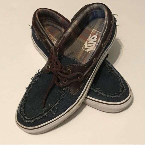 Vans Other - Vans Off The Wall Loafer Boat Shoes Men's 9.5